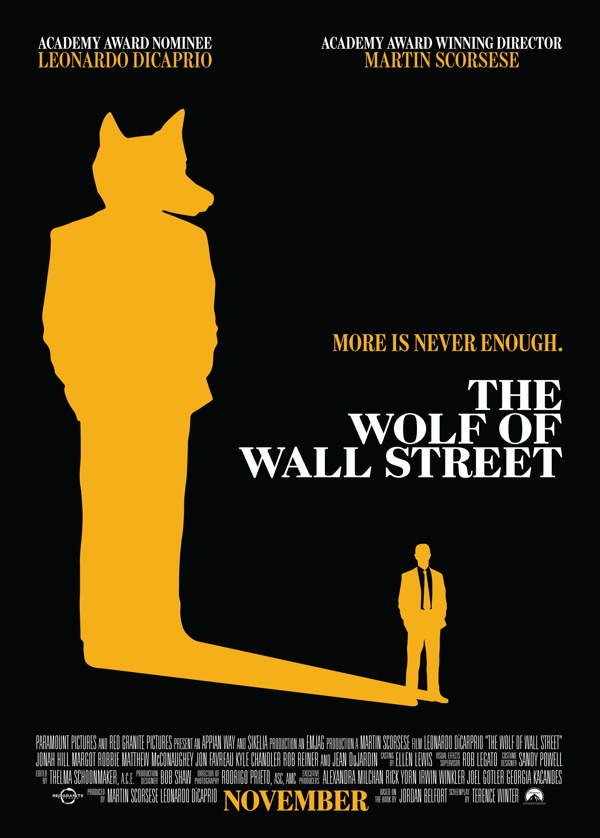 Wallstreet signed movie poster